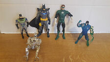 BATMAN DC GREEN LANTERN BANE ANIMATED SERIES FIGURE LOT