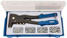 Draper 27843 Hand Pop Rivet RIVETING Gun Kit with Rivets Aluminium Riveter