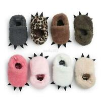 Newborn Baby Infant Winter Warm Claw Shoes Kid Baby Indoor Slippers Boots 0-18M