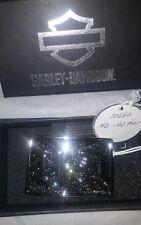"HARLEY-DAVIDSON  ""H-D "" BUCKLE with glitter  HDWBU10640  NIB"