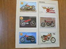 SUPER MOTO PANINI ALBUM CARDS MOTO MORINI,MOTOBECANE,MUNCH 1200,500,MONTESA