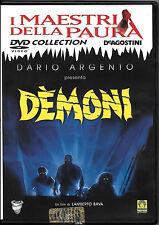 "FILM DVD ""DEMONI"" (LAMBERTO BAVA-DARIO ARGENTO) HORROR RARO FUORI CATALOGO"