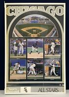 Vintage 1991 Chicago White Sox Sports Illustrated Team Montage Poster 22x34 New