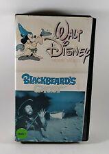 Walt Disney Blackbeard's Ghost Vhs Tape