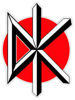 "Dead Kennedys music sticker decal 4"" x 5"""