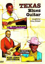 John Miller TEXAS BLUES GUITAR Instructional Guitar Video Lesson DVD + PDF TABs