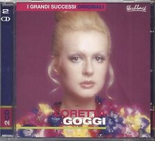 LORETTA GOGGI - I grandi successi originali - Flashback - 2 CD 2002 COME NUOVO