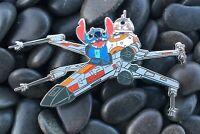Stitch & BB8 Flying X-Wing Disney Star Wars Fantasy Pin