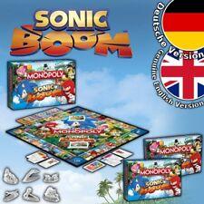 Sonic Boom Monopoly Spiel Gesellschaftsspiel Brettspiel Board Game Hedgehog