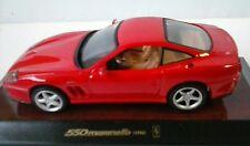 MAISTO 1:43 AUTO DIE-CAST FERRARI 550 MARANELLO 1996 ROSSA  ART 31502