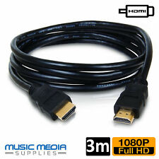 3M HDMI Cable High Speed HDMI 1.4 Male 1080p 3D Gold Plated Video Cable for HDTV