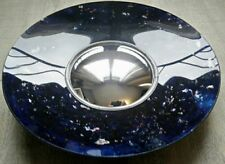 Glace / miroir verre aglomise glass avec oeil de sorcière rare style ingrand