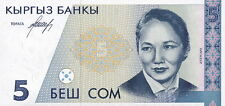 Kirgistan / Kirgisistan / Kyrgyzstan 5 Som (1994) Pick 8 (1)