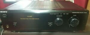 1996 SONY TA-F448E Stereo Amplifier Power Mosfet Bi-Wire 170W
