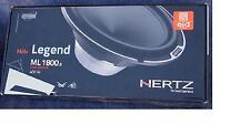 "New listing Hertz Mille Ml 1800.3 Car Speakers 7"" - Free Ups Shipping"