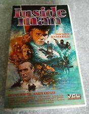 Inside Man - Der Mann aus der Kälte - VHS - PAL - VCL - 1986 - kleine Box