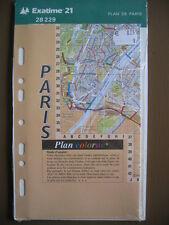 Exatime 21 ref 28229 Recharge plan de paris pour organiseur