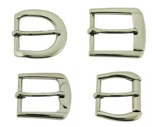 """1"""" Inch Silver Pin Belt Buckles for 1.0"""" Wide Belt EXT Size 25mm DIY Boots Watch"""