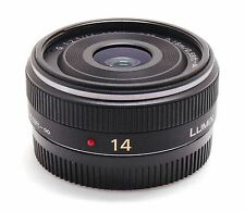 Panasonic Lumix G 14mm f/2.5 Aspherical AF Lens Micro Four Thirds MFT M4/3 MINT-