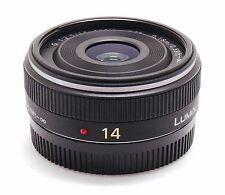 Panasonic Lumix G 14 mm f/2.5 Asphérique AF Lens Micro Quatre Tiers MFT M4/3 Comme neuf -