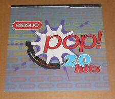 Erasure Pop! 20 Hits Poster 2-Sided Flat Square 1992 Promo 12x12