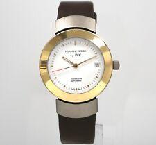 PORSCHE DESIGN by IWC 18k Solid Gold & Titanium 35mm Automatic Swiss Watch