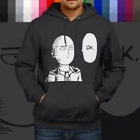 One-Punch Man Saitama Manga Anime Japanese Pullover Hoodie Jacket Hooded Sweater