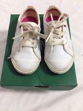 LACOSTE Scarpe da ginnastica Neonato Bambina Tg UK 6/EUR 23 in (ca. 58.42 cm) Scatola Originale