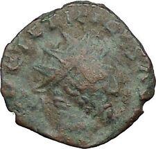 Tetricus I - Gallic Roman 273AD Rare Ancient Roman Coin Laetitia Happy  i32863