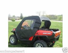 FULL CAB Enclosure for Existing Hard Windshield ~ CAN-AM COMMANDER ~ New ~ UTV