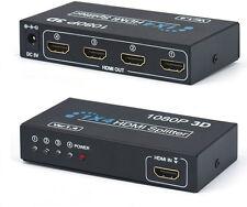 SPLITTER SDOPPIATORE FULL HD 1080P 3D 1x4 4 USCITE HDMI
