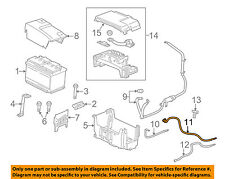 Buick GM OEM 12-16 LaCrosse Battery-Negative Cable 26679375