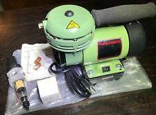 NOS Paasche airbrush compressor D200R 1/6 HP +regulator/instrux/box NICE see pix
