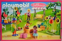 Playmobil 70212 Kindergeburtstag Clown Sackhüpfen Hollywoodschaukel Muffins NEU