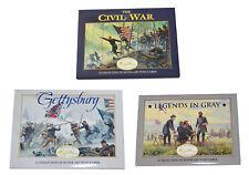 American Civil War Collection Official Mort Kunstler 3 Packs Of 20 Postcards