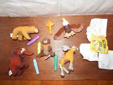 Rare Bundle Disney Brother Bear soft plush toy figure whistle totem pole reveal