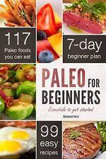 Paleo for Beginners Get Started Chatham Paperback 2013 Diet Plan Food Eat Meals