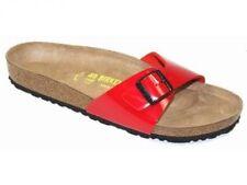 Sandalias y chanclas de mujer Birkenstock color principal rojo