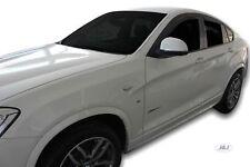 BMW X4 F26 5 PORTES 2013-2018 Deflecteurs d'air Déflecteurs de vent 4pcs