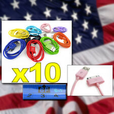 10X 10-COLOR 6FT USB 30PIN CABLE DATA SYNC CHARGER SAMSUNG GALAXY TAB P7500 7510