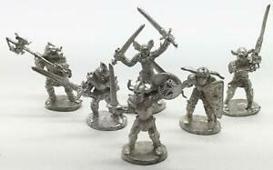 Iron Wind Fantasy Mini 28mm Chaos Warrior Collection #1 NM