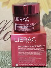 LIERAC Magnificence Night Revitalizing Smoothing Gel-In-Balm 1.7 fl oz NIB