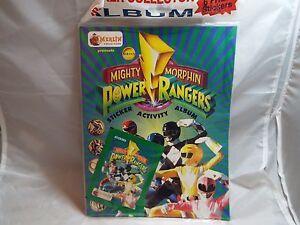 POWER RANGERS STICKER ALBUM PRODUCED BY MERLIN