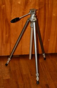 "Vintage Clasic HOLLYWOOD JUNIOR Professional Camera Tripod 61"" Fully Extended"