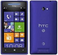 HTC Windows Phone 8X - 16GB (GSM Unlocked) - Blue Smartphone