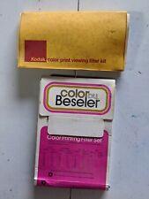 Kodak Color by Beseler color print photo set