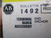 ALLEN BRADLEY 1492-N23  TERMINAL BLOCK (4 pcs)