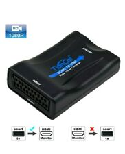 Tiancai Scart to HDMI Adaptor 1080P Scart to HDMI Converter for HDTV STB  (TC-S)
