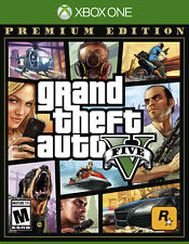 Grand Theft Auto V Premium Online Edition (Xbox One, 2014) Fast, free shipping