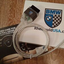 BMW OBD2 USB K+DCAN Certified Cable for Rheingold ISTA D&P1998 til 2011 E series